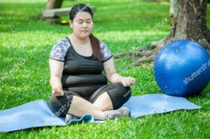 plus-size-woman-meditate