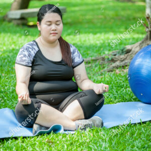 plus-size-woman-meditate