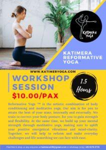 Katimera Reformative Yoga Workshop cover